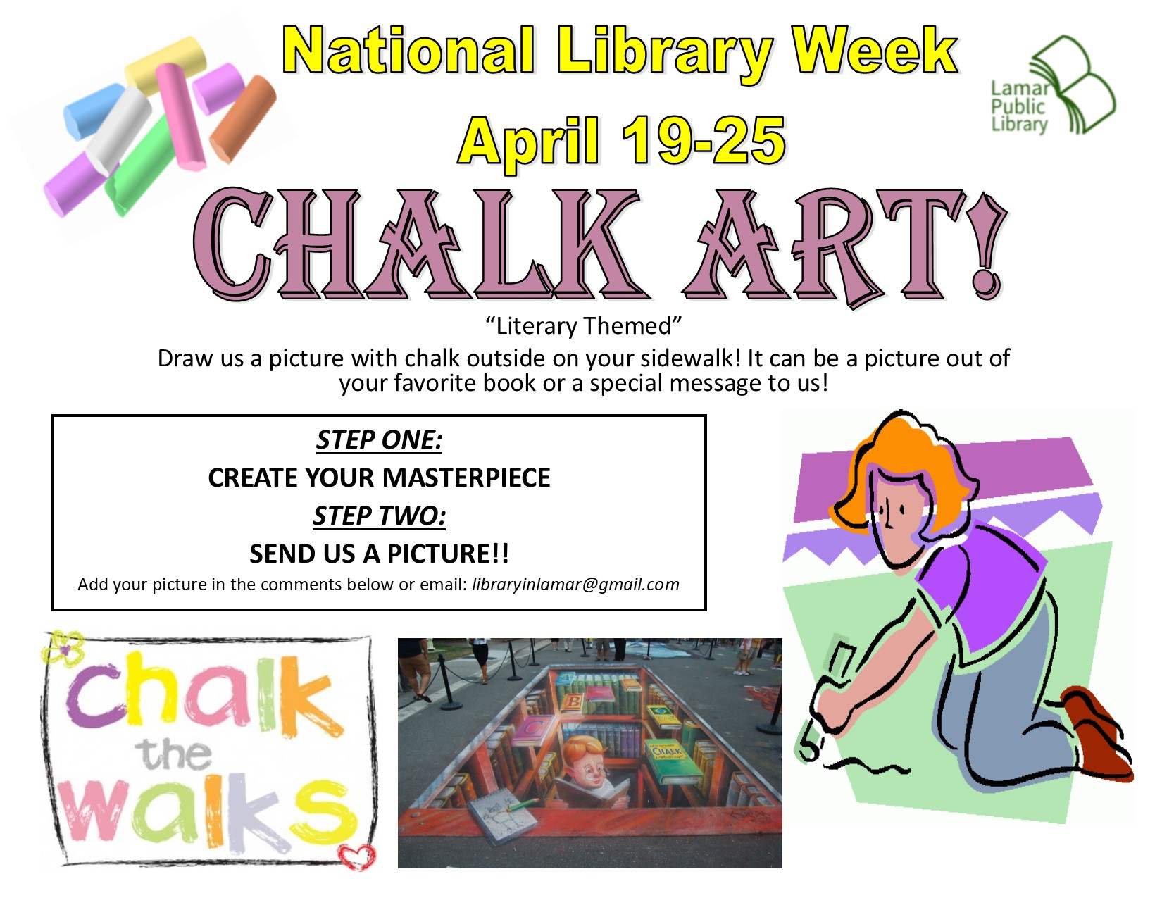 National Library Week 2020 - Lamar Public Library